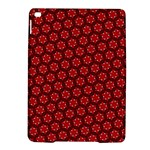 Red Passion Floral Pattern iPad Air 2 Hardshell Cases