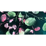 Modern Green And Pink Leaves YOU ARE INVITED 3D Greeting Card (8x4)