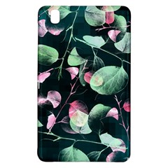 Modern Green And Pink Leaves Samsung Galaxy Tab Pro 8 4 Hardshell Case by DanaeStudio