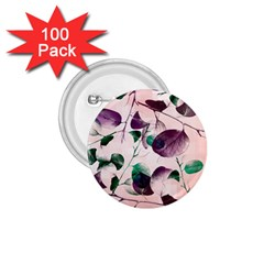 Spiral Eucalyptus Leaves 1 75  Buttons (100 Pack)  by DanaeStudio