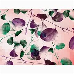 Spiral Eucalyptus Leaves Canvas 12  X 16   by DanaeStudio