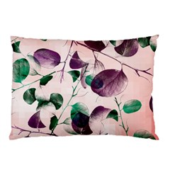 Spiral Eucalyptus Leaves Pillow Case by DanaeStudio
