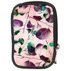 Spiral Eucalyptus Leaves Compact Camera Cases by DanaeStudio