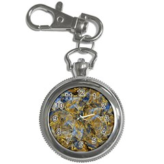 Antique Anciently Gold Blue Vintage Design Key Chain Watches by designworld65