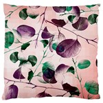 Spiral Eucalyptus Leaves Large Cushion Case (Two Sides)