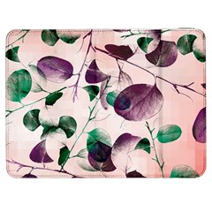 Spiral Eucalyptus Leaves Samsung Galaxy Tab 7  P1000 Flip Case by DanaeStudio