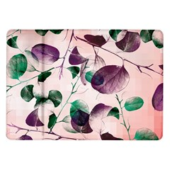 Spiral Eucalyptus Leaves Samsung Galaxy Tab 10 1  P7500 Flip Case by DanaeStudio