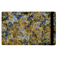 Antique Anciently Gold Blue Vintage Design Apple Ipad 3/4 Flip Case by designworld65