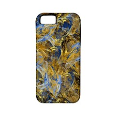 Antique Anciently Gold Blue Vintage Design Apple Iphone 5 Classic Hardshell Case (pc+silicone) by designworld65