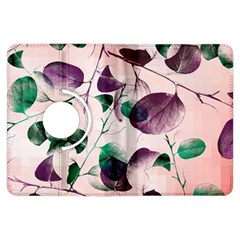 Spiral Eucalyptus Leaves Kindle Fire Hdx Flip 360 Case by DanaeStudio