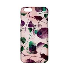 Spiral Eucalyptus Leaves Apple Iphone 6/6s Hardshell Case by DanaeStudio