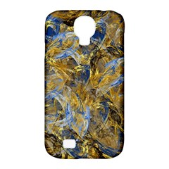 Antique Anciently Gold Blue Vintage Design Samsung Galaxy S4 Classic Hardshell Case (pc+silicone) by designworld65