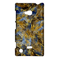 Antique Anciently Gold Blue Vintage Design Nokia Lumia 720 by designworld65