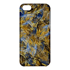 Antique Anciently Gold Blue Vintage Design Apple Iphone 5c Hardshell Case by designworld65