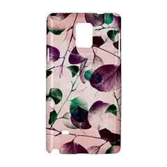 Spiral Eucalyptus Leaves Samsung Galaxy Note 4 Hardshell Case by DanaeStudio