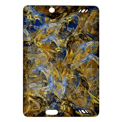 Antique Anciently Gold Blue Vintage Design Amazon Kindle Fire Hd (2013) Hardshell Case by designworld65