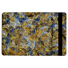 Antique Anciently Gold Blue Vintage Design Ipad Air 2 Flip by designworld65