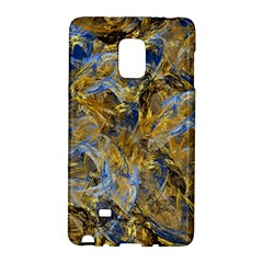 Antique Anciently Gold Blue Vintage Design Galaxy Note Edge by designworld65