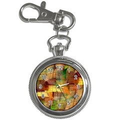 Indian Summer Funny Check Key Chain Watches by designworld65