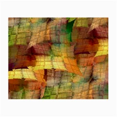 Indian Summer Funny Check Small Glasses Cloth by designworld65