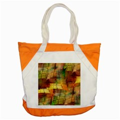 Indian Summer Funny Check Accent Tote Bag by designworld65
