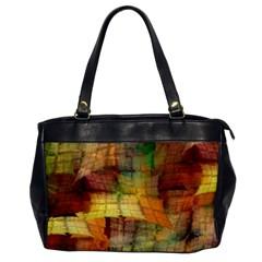 Indian Summer Funny Check Office Handbags by designworld65