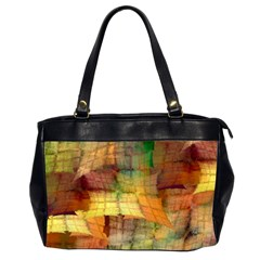 Indian Summer Funny Check Office Handbags (2 Sides)  by designworld65
