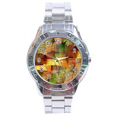 Indian Summer Funny Check Stainless Steel Analogue Watch by designworld65