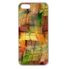 Indian Summer Funny Check Apple Seamless Iphone 5 Case (clear) by designworld65