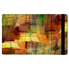 Indian Summer Funny Check Apple Ipad 2 Flip Case by designworld65