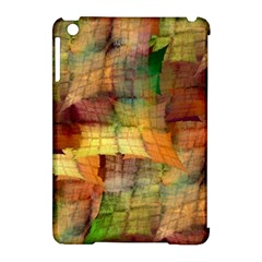 Indian Summer Funny Check Apple Ipad Mini Hardshell Case (compatible With Smart Cover) by designworld65