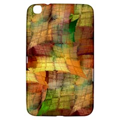 Indian Summer Funny Check Samsung Galaxy Tab 3 (8 ) T3100 Hardshell Case  by designworld65