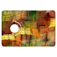 Indian Summer Funny Check Kindle Fire Hdx Flip 360 Case by designworld65