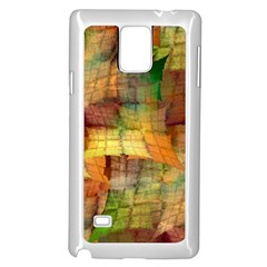 Indian Summer Funny Check Samsung Galaxy Note 4 Case (white) by designworld65