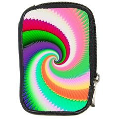 Colorful Spiral Dragon Scales   Compact Camera Cases by designworld65
