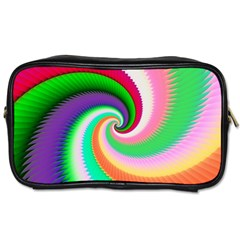 Colorful Spiral Dragon Scales   Toiletries Bags by designworld65