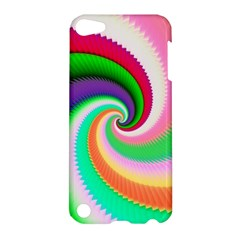 Colorful Spiral Dragon Scales   Apple Ipod Touch 5 Hardshell Case by designworld65