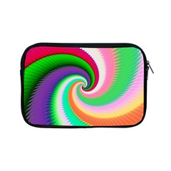 Colorful Spiral Dragon Scales   Apple Ipad Mini Zipper Cases by designworld65