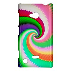 Colorful Spiral Dragon Scales   Nokia Lumia 720 by designworld65