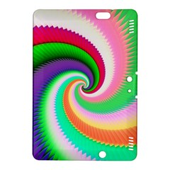 Colorful Spiral Dragon Scales   Kindle Fire Hdx 8 9  Hardshell Case by designworld65