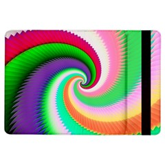 Colorful Spiral Dragon Scales   Ipad Air Flip by designworld65