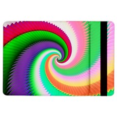 Colorful Spiral Dragon Scales   Ipad Air 2 Flip by designworld65