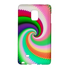 Colorful Spiral Dragon Scales   Galaxy Note Edge by designworld65