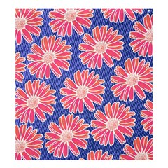 Pink Daisy Pattern Shower Curtain 66  X 72  (large)  by DanaeStudio