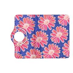 Pink Daisy Pattern Kindle Fire Hd (2013) Flip 360 Case by DanaeStudio