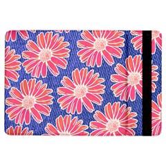 Pink Daisy Pattern Ipad Air Flip by DanaeStudio