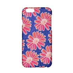 Pink Daisy Pattern Apple Iphone 6/6s Hardshell Case by DanaeStudio
