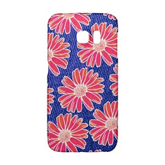 Pink Daisy Pattern Galaxy S6 Edge by DanaeStudio