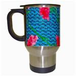 Carnations Travel Mugs (White)