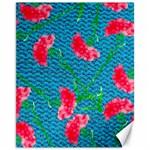 Carnations Canvas 11  x 14